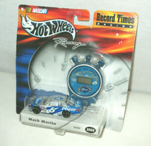 Hot Wheels Record Times Racing Mark Martin 2002