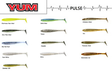 "YUM Pulse Swimbait, 3-1/2""  8 per Pack, Choice of Colors"