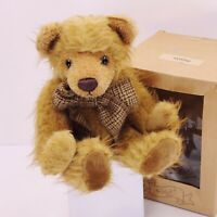 Vintage Mohair Brown Bear by RICH, New, In Original Box, Excellent Condition!!
