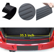 2019 Accessories Car SUV Rubber Sticker Rear Guard Bumper Protector Trim Cover