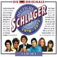 ELFI GRAF/FREDDY QUINN/KAREL GOTT/+ - DEUTSCHE SCHLAGER 1970-1972 3 CD NEU