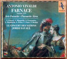 Vivaldi • Farnace • Arie Favorite • Concert des Nations • Savall • CD • Aliavox