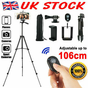 Pro Camera Phone Tripod Stand For Digital Camcorder Holder iPhone Canon DSLR SLR