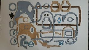 BOTTOM GASKET SET FITS: LEYLAND, MARSHALL & JCB, 3.4TD, 3.8TD & 4/98
