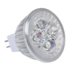 Bombilla Lmpara MR16 4 LED Luz Blanco Foco DC12V Alta Potencia M8G7