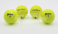 24 Srixon Soft Feel Yellow Near Mint AAAA Used Golf Balls - FREE Shipping