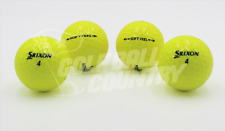 24 Srixon Soft Feel Yellow Near Mint AAAA Used Golf Balls - FREE Shipping