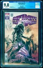 INFINITY WARS # 1 CGC 9.8 Marvel Premiere Edition Rare Partial Sketch Cover