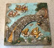 Byron's Secret Garden Harmony Kingdom Tile - Bumbles Bridge
