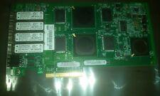 Quad Port 4gb LC Fibre Channel FC PCI-e x8 QLogic QLE2464 NetApp 111-00415+A0