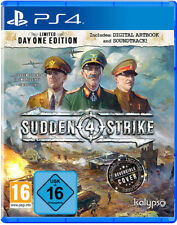 PS4 Sudden Strike 4 Limited Day One Edition NEU&OVP Playstation 4