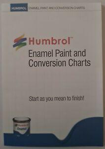 Humbrol Enamel Paint & Conversion Charts
