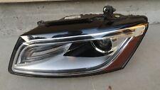 d51209 Audi Q5 SQ5 2013 2014 2015 2013 LH xenon HID headlight wo curve opt OEM