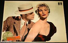 soggettone film THE HAPPY TIME Louis Jourdan Linda Christian 1952