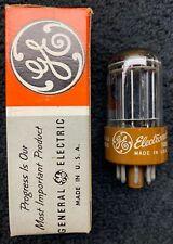 1 NOS GE 5692 Brown Base Audio Tube USA 1960