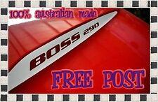 Ford Falcon BA/BF Bonnet Bulge Decals Boss 260 /290 /302/ 330 etc