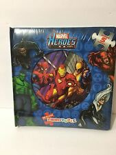 "10"" Marvel Heroes My First Book Puzzle Spanish Edition 5 in 1 Very Rare"