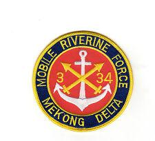 3/34 FA MRF - Mekong Delta BC Patch Cat. No. C5130