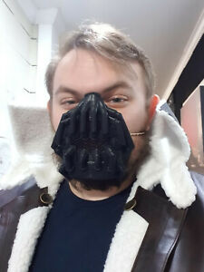 Bane Mask - High Quality Hard Plastic - Batman