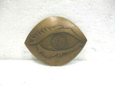 """Médaille commémorative en bronze : """" Prix chibre d'ophtalmologie """""""