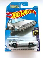 HOT WHEELS 2019 BACK TO THE FUTURE TIME MACHINE - HOOVER MODE HW Screen Time NEW