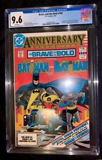 Brave and the Bold #200 CGC 9.6 1983 1st Batman and the Outsiders 1st Katana