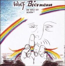 WOLF BIERMANN - DIE WELT IST SCHÖN  CD NEU