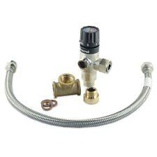 Albin Pump Premium Wasserboiler Mixer Kit Durchlauferhitzer Dusche Küche