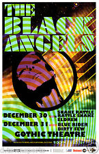 THE BLACK ANGELS New Years 2015 Gothic - Denver 11x17 Concert Flyer / Gig Poster