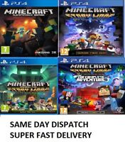 PS4 Minecraft PS4 Various Assorted MINT Condition -Super Fast Delivery