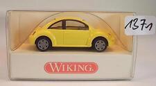 Wiking 1/87 n. 035 12 24 VW VOLKSWAGEN NEW BEETLE LIMOUSINE GIALLO CHIARO OVP #1371