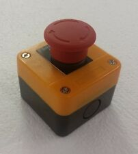 Push Button Control Box with Emergency Stop Push Button Switch - Model J174H29