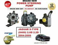 Brand New POWER STEERING PUMP for JAGUAR X-TYPE XTYPE (X400) 2.0D 2.2D 2004-2009