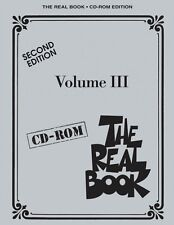 The Real Book Volume III Second Edition CD-ROM CD ROM SHEET MUSIC CDR 000451089