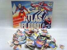 ATLAS UFO ROBOT-1^ serie EDIERRE 1978-Evado mancoliste-Costo 0,80-Recuperate