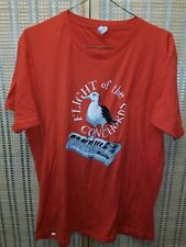 Flight of the Conchords Band, Seagull & Synthesizer T-Shirt Graphic Size Large!