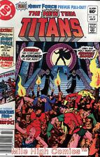 TEEN TITANS  (1980 Series)  (DC) #21 NEWSSTAND Very Fine Comics Book