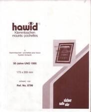 1 Pack.= 5 HAWID-Klemmtaschen schwarz 173x205 mm System Schaufix