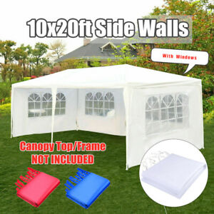 Outdoor 10'x20'Canopy Party Wedding Tent Gazebo Pavilion Cater Events 4  # ❤~