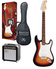Kit chitarra elettrica 3/4 + amplificatore  accordatore e accessori SX sunburst for sale
