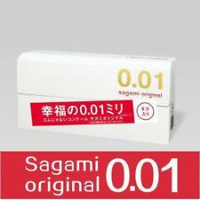 SAGAMI ORIGINAL 001 0.01mm Ultra-thin Condom, 5-Count, from Japan
