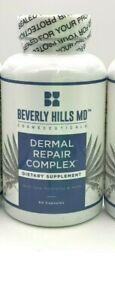 Lot 3 bottles SEALED Beverly Hills Dermal Repair Complex - 60 capsules