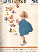 September 1921 Good Housekeeping Jessie Willcox Smith;W T Benda;choosing corsets