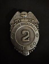 New listing Hackensack New Jersey Nj Fireman Fire Badge Cairns Helmet Olson Wilson Braxmar