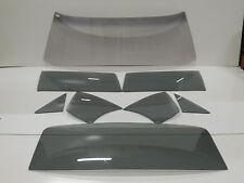1966 1967 Chevy II Nova Glass 2dr Hardtop Windshield Vent Door Quarter Back Grey