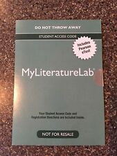 MyLiteratureLab Student Access Code includes Pearson eText