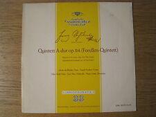 """AESCHBACHER & KOECKERT QUARTET """"Schubert: Trout Quintet"""" orig DGG LPM 18072"""