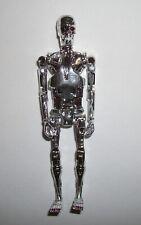 Funko ReAction Terminator (Chrome) Endoskeleton 3 3/4 Retro Style Action Figure