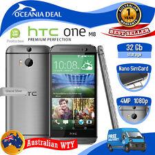 [NEW SEALED BOX] HTC ONE M8 32GB 4G LTE GREY 100% UNLOCKED WITH BOX LOCAL OZ WTY