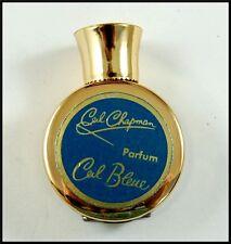 Vintage Ceil Chapman Ceil Bleue Miniature Perfume Parfum Bottle Nearly Full
